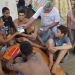 Ein Team der Brasilianischen Bibelgesellschaft im Einsatz / Foto: UBS