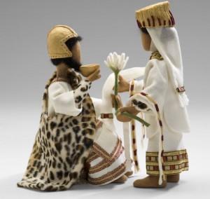 Fürstenpaar (Foto: Bibel+Orient Museum)