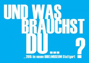 Postkarte Bibelmuseum Stuttgart