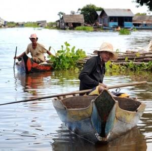 Auf dem Fluss in Mechrey (Foto: WBH)