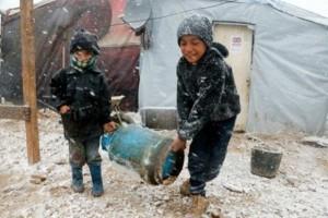 Kinder im Flüchtlingslager (Foto: Weltbibelhilfe)